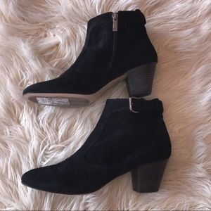 Aquatalia Suede Booties 9.5
